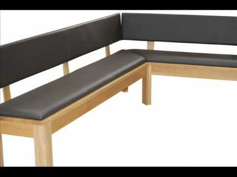 eckbank eiche massiv youtube. Black Bedroom Furniture Sets. Home Design Ideas