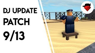Commander Rework | DJ Update: Patch 9/13 | Tower battles [ROBLOX]