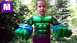 Халк большой камень с игрушками Марвел распаковка Marvel Hulk Giant stone with toys unboxing