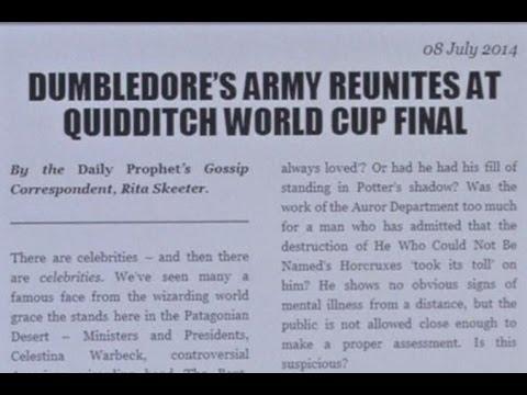 Джоан Роулинг опубликовала новую историю про Гарри Поттера (новости) Http://9kommentariev.ru/