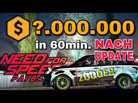 Need for Speed Payback - Geld Glitch nach UPDATE   Version 1.09