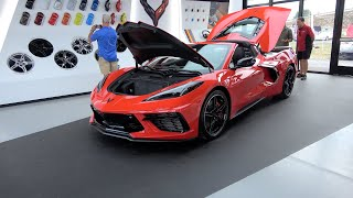 1st Walk Around 2020 Torch Red C8 Corvette. You have to see this Mid-Engine Stingray