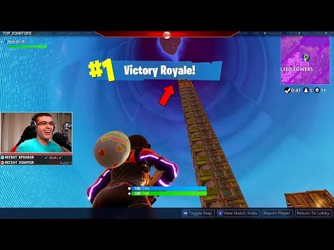 My highest game winning headshot ever! (Nick Eh 30's BEST Fortnite Moments #15)