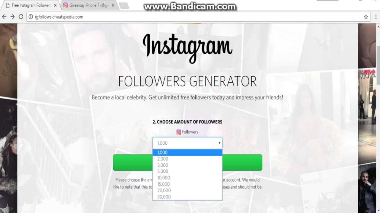Free Follower Generator For Instagram | Least Followed