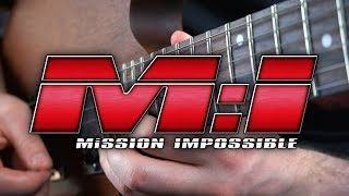 Mission Impossible Theme on Guitar