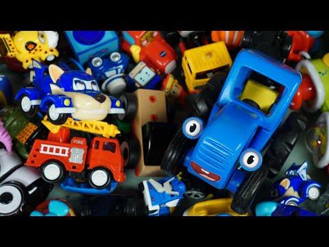 Синий трактор vlog - Большая коробка с подарками