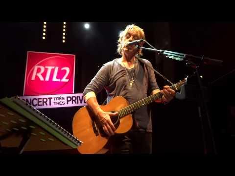 Jean Louis Aubert - Le Temps - Concert Très Très Privé RTL2 - Le Petit Bain 18 Décembre 2012