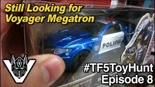 The Hunt for Voyager Megatron continues... - [TF5 Toy Hunt #8]
