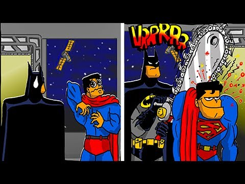 NEW FUNNY SUPERHERO COMICS - Marvel & DC - 2 .