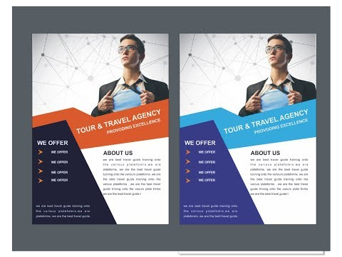 Professional Business Flyer Design Tutorial by Ashan Sabri