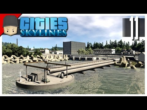 Cities Skylines - S3 Ep.11 : Water Treatment Plant