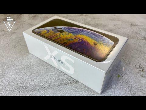 Распаковка и первое впечатление от IPhone XS