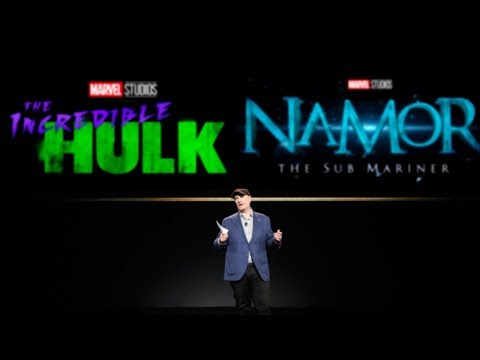 OFFICIAL MARVEL PHASE 5 SLATE ANNOUNCEMENT – Avengers 5, Hulk, Namor MCU News