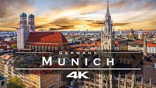 Munich, Germany 🇩🇪 - by drone [4K]