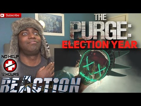 The Purge: Election Year Official Trailer #1 REACTION!