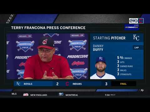 Francona calls Michael Brantley 'heart and soul' of Indians