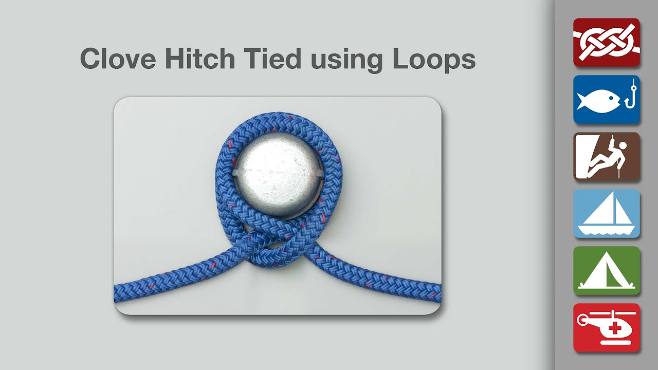 Image result for Greater Clove Hitch