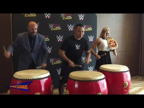 "WWE's Superstars ""honored"" to perform in Manila, Shanghai"