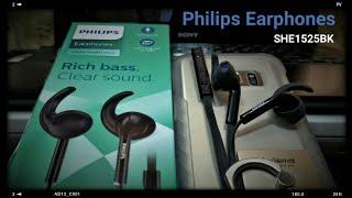 Philips Earphones SHE1525BK (Unboxing & Overview )
