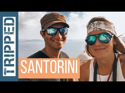 SANTORINI IS BEAUTIFUL - Travel Vlog w/ Drone
