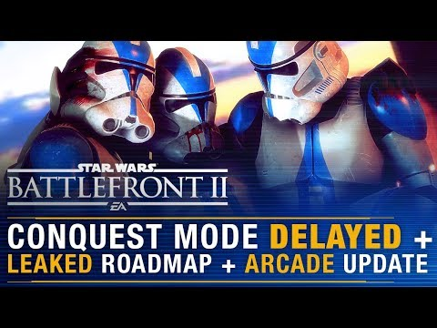 CONQUEST Mode Delayed! Roadmap LEAKED, Another DICE Dev Leaves, Arcade Update | Battlefront Update