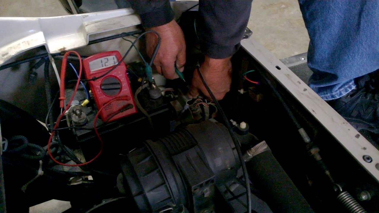 How to Check the Generator on Your Golf Cart  YouTube