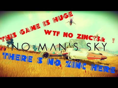 MIND BLOWING | CANT FIND ZINC | NO MAN'S SKY