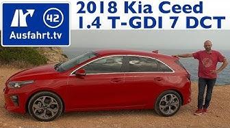 2018 Kia Ceed 1.4 T-GDI 7DCT - Kaufberatung, Test, Review
