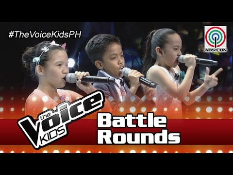 "The Voice Kids Philippines Battle Rounds 2016: ""I Believe I Can Fly"" by Gabrielle, Mariel & Alvin"