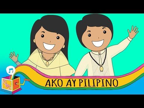Ako ay Pilipino | Tagalog Patriotic Song | Karaoke