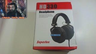 Καλά οικονομικά audiophile Ακουστικά??? Superlux HD 330 [Gearbest]