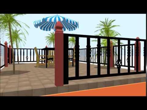 Coconut Grove Duplex Villa