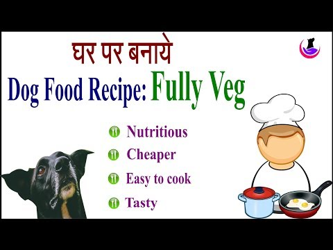 Nutritious Dog Food Recipe: Fully Veg in Hindi II dog and vet II