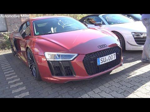 Audi R8 V10 Plus w/ MHP Performance Exhaust - LOUD sounds!