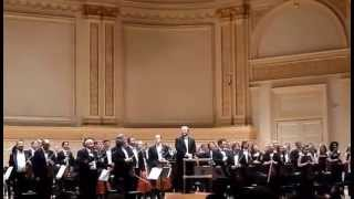 Curtain Call St. Petersburg Philharmonic Orchestra in New York at Carnegie Hall 6.12.15