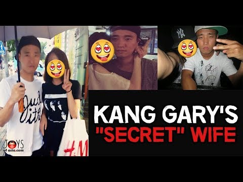 KANG GARY FINALLY REVEALED HIS WIFE?