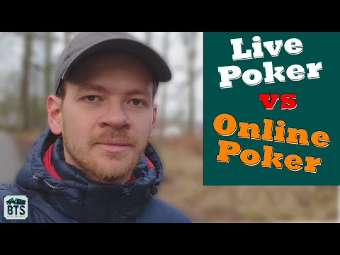 Live Poker Vs. Online Poker: Differences And Tips On How To Approach The Live Scene