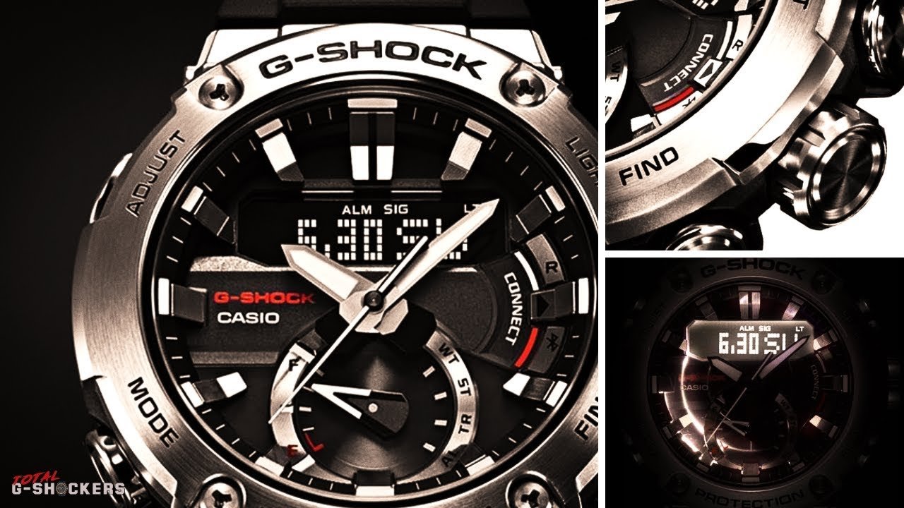 Coming Soon Casio G Shock Carbon Core Guard G Steel Gstb200 1a