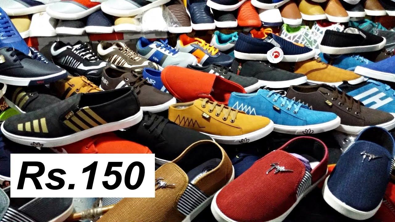 Shoes at Wholesale Price I Paddapukur Shoe Market Kolkata I Shoes at ... 31f3ea78b