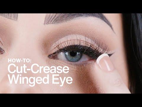 HOW TO: Cut-Crease Winged Eye | MAC Cosmetics
