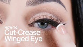 HOW TO: Cut-Crease Winged Eye | MAC Cosmetics