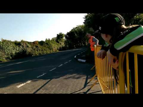 Lissy's first ISLE OF MAN  TT 2016
