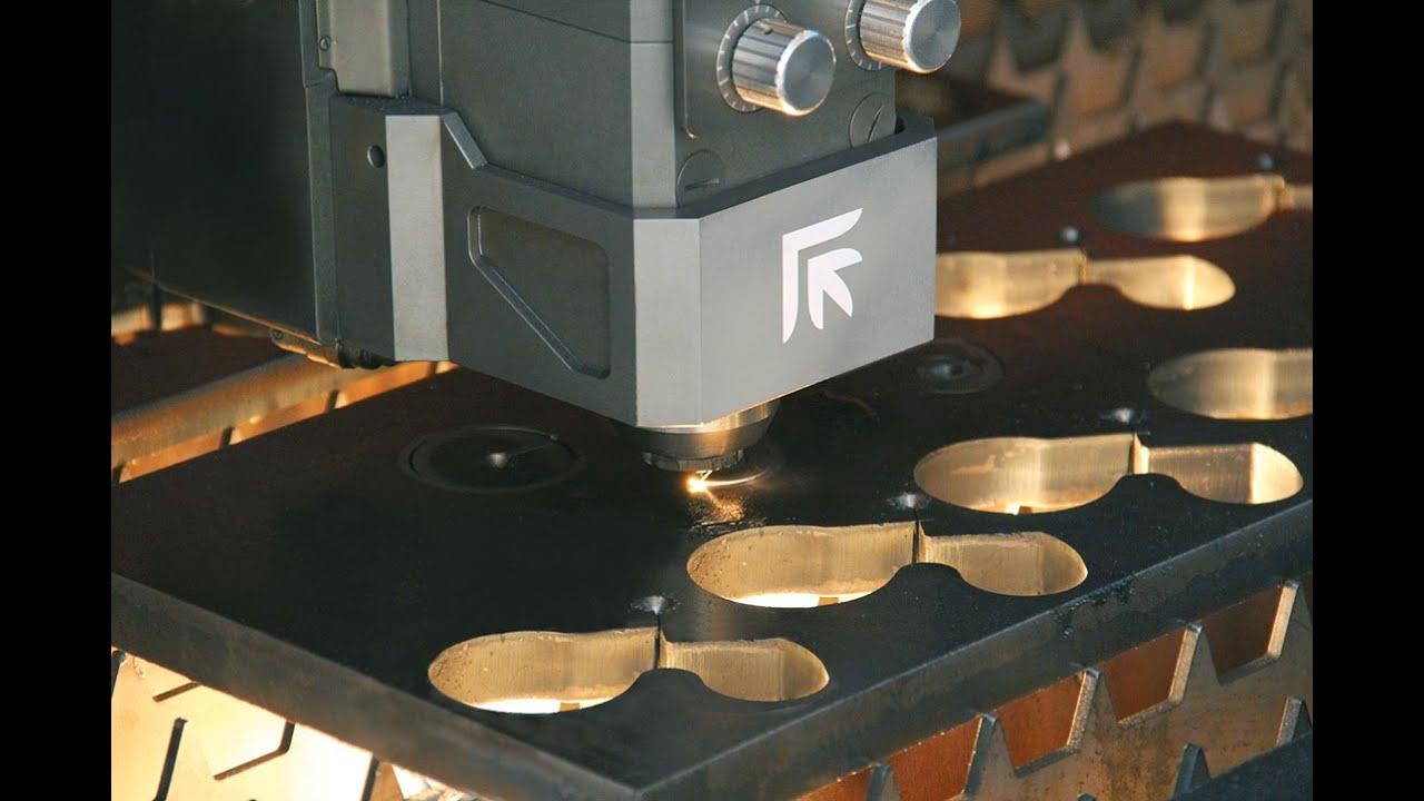 Prima Power Platino Fiber With 4kw Laser Cutting