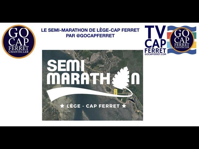 Survol du Semi-marathon de la presqu'île du Cap Ferret - 21 novembre 2021 -