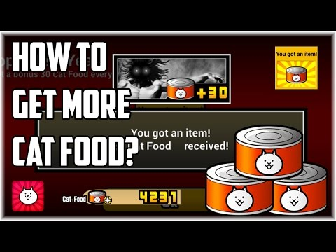 The Battle Cats | How to get more Cat Food (Guide)