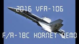 FSX F/A-18C Hornet Tactical Demo 2016
