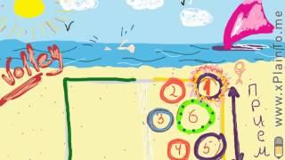 видео Расстановка в волейболе: правила игры