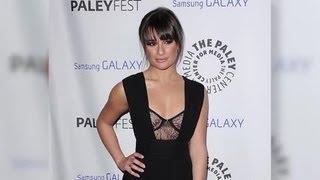 Lea Michele porte une robe sans soutien-gorge aux PaleyFest Icon Awards