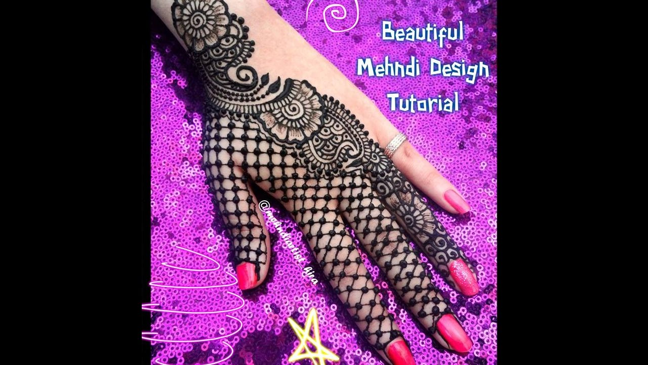 Mehndi Designs Tutorial Youtube : Diy henna designs how to apply easy simple latest mehndi