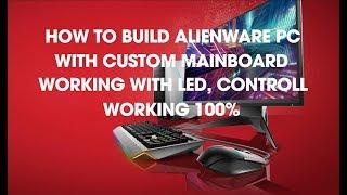 Alaienware Aurora Bare bones Custom PC Build 2017